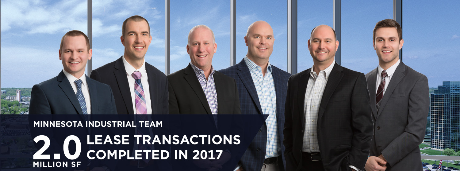 2 Million SF Lease Transactions Completed in 2017